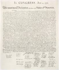 thomas paine s common sense and the declaration of independence  english this is a high resolution image of the united states declaration of independence