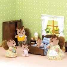Sylvanian Families Bedroom Furniture Set Sylvanian Families Master Bedroom Set Alb2400 Hamleys For