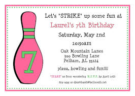 Bowling Invitation Simple 44 Bowling Invitation PoppySeed Paper