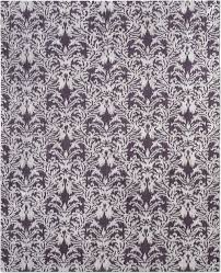 ikat royal damask silver purple 5 217 20 50