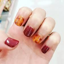 不器用さんでも簡単にできる秋のセルフネイルデザイン集 Nails