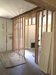 to open the space up the wall was removed as was that small fireplace which was in the lr portion to create one large space