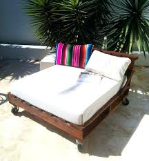 pallets made into furniture. Pallets Made Into Furniture Pallet Industrial Daybed Lounge Chair Indoor Or Outdoor Custom .