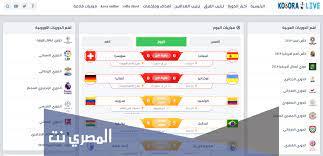 تنزيل تطبيق كورة لايف 2021 رابط مباشر - المصري نت