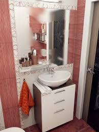 Bathroom Designs: Brown Mosaic Bathroom Tile - Modern Bathroom