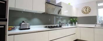 Full length grey splashback design # Grey Kitchen Splashback Ideas