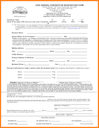 contractor forms templates 11 general contractors contract template agile resumed