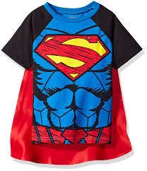 Superman, pajamas With, cape, for Toddlers