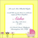 Aqiqa Invitations Announcements Indian Pakistani Wedding