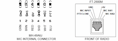 yaesu microphone wiring diagram the wiring diagram yaesu mh 48 microphone qrz forums wiring diagram