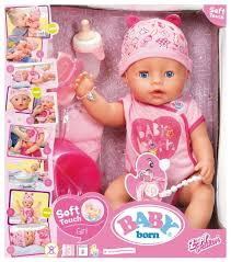 Купить Интерактивная <b>кукла Zapf Creation Baby</b> Born 43 см 825 ...