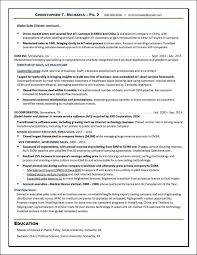 Technology Sales Executive Resume Example Distinctive