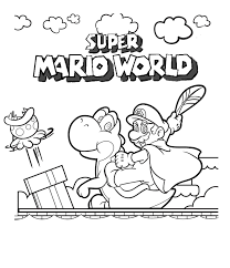 Small Picture Draw Super Mario Coloring Pages 81 For Free Coloring Book with