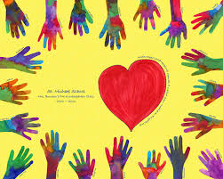 love this painting with heart and helping hands a child can achieve anything