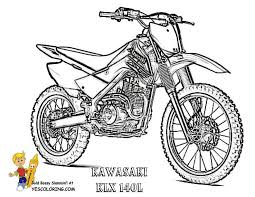 Rough rider dirt bike coloring pages 01! Print Out This Cool Motorbike Coloring For Boys Kawasaki Klx 140l Tell Other Coloring Kids Your Eyeballs Found Yescol Coloring Pages Kawasaki Dirt Bikes Bike