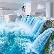 Floor wallpaper 3d for bathrooms 3D ...