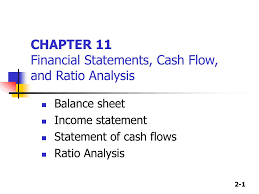 Cash Flow Statements Analysis Ppt Chapter 11 Financial Statements Cash Flow And Ratio