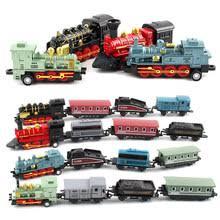 Metal <b>Toy Train Set</b>