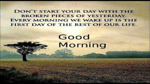 Inspirational Good Morning Video Message Good Morning Wishes Quotes Sms