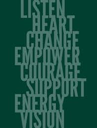 essays on leadership inside bauer magazine spring summer listen heart change empower courage support energy vision