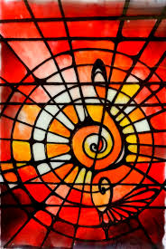 stained glass painting al 1