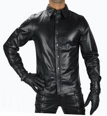 mens black leather shirt is the perfect choice for you inspired by the fit of a on down work shirt