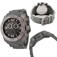 chronograph watches 69 99 for swiss legend men s watch commander gray silicone band gray dial sl 20067 gm 12 795 list price