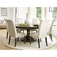 the california round dining table with leaf