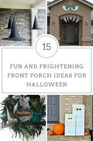 Fun and Frightening Front Porch Ideas for Halloween | Yesterday On ...
