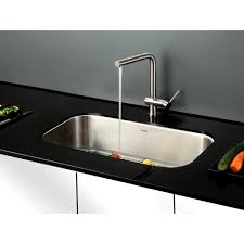 Contemporary Kitchen Sinks  Bellacor25 Inch Undermount Kitchen Sink