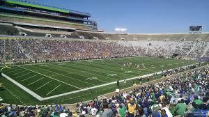 Notre Dame Stadium Section 14 Rateyourseats Com