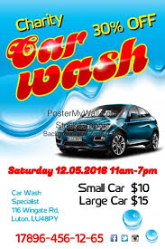 Charity Car Wash Flyer Template | Postermywall
