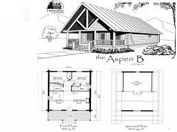 Log Cabin Plans  Log Cabin Homes Floor Plan  Hideaway Log CabinCabin Floor Plans