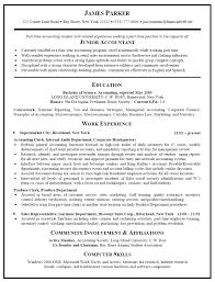 Cpa Resume Sample Cpa Resume Sample Cpa Resum Template Junior