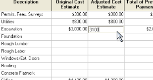 cost spreadsheet for building a house build or remodel your own house budget spreadsheet