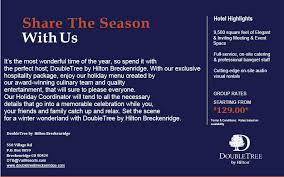 Meetings And Events At Doubletree By Hilton Hotel