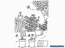 Secret Garden Coloring Book Pages Jaboobiecom
