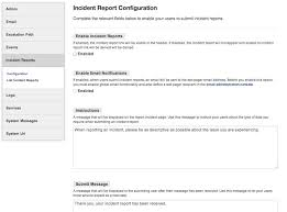 what is an incident report incident reports system status dashboard