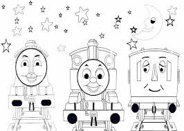 Stylist Design Thomas Train Coloring Pages The Printable Cartoon