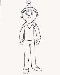 Small Picture the elf coloring pages