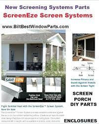 screen tight porch screening system patio deck enclosure best and easy install parts window reviews screen tight