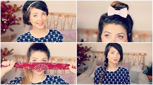 Very Easy Cute Hairstyles How To Quick Easy Hair Styles Zoella Youtube