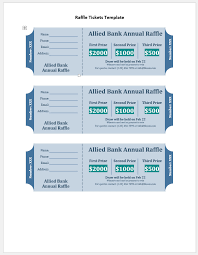 Print Raffle Tickets At Home Free Printable Raffle Tickets Template 5200