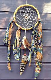 Bamboo Dream Catcher Handmade dreamcatcher with a bamboo frame upcycled by VenusAurora 12