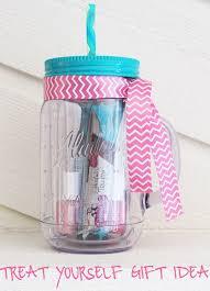 diy mason jar tumbler treat yourself gift idea