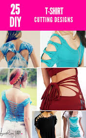 27 diy t shirt cutting ideas to try on your old outfits for new look