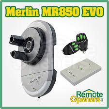 merlin mr850evo silent drive garage roller door mo