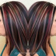 Chunky Highlight Red Blonde Brown Http