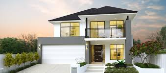 Frontage House Designs The Hamersley Two Storey Home Design Webb Brown Neaves