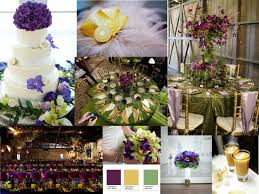 Purple and green wedding colors Kale Green The Dessy Group Purple Green And Gold Pantone Wedding Styleboard The Dessy Group